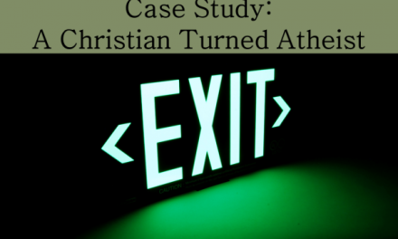 A Case Study of a Christian Turned Atheist