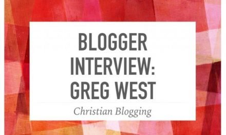 Blogger Interview: Greg West