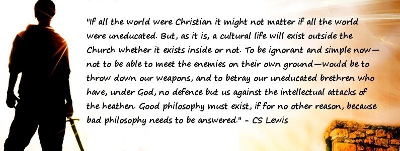 CS Lewis: If all the world were Christian…