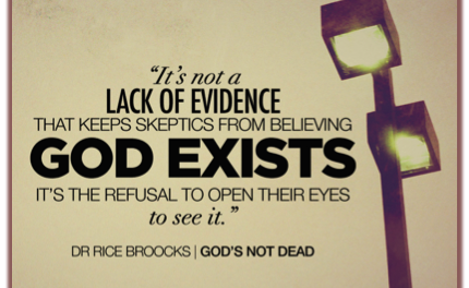 Does God Exist Beyond A Reasonable Doubt?