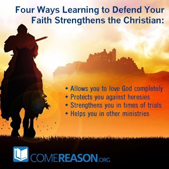 Four ways learning to defend your faith benefits you!