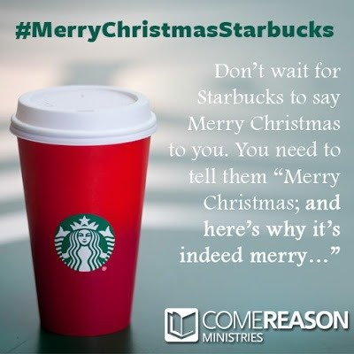 Make #MerryChristmasStarbucks Truly Meaningful