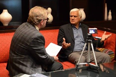 Ravi Zacharias interviewed in Baltimore: 'We are being trapped in the quicksand of the absence of objective truth'