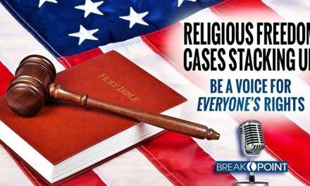 Religious Freedom Cases Stacking Up: Be a Voice for Everyone's Rights