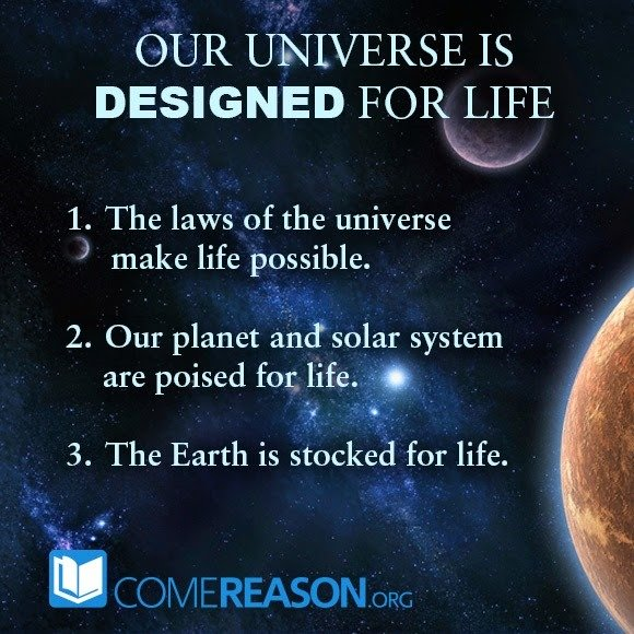 Three Ways Our Universe is Designed for Life
