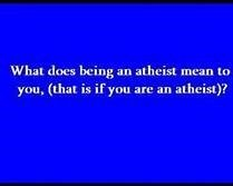 What Atheism Means
