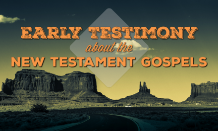 Who Wrote the New Testament Gospels?: Early Testimonies
